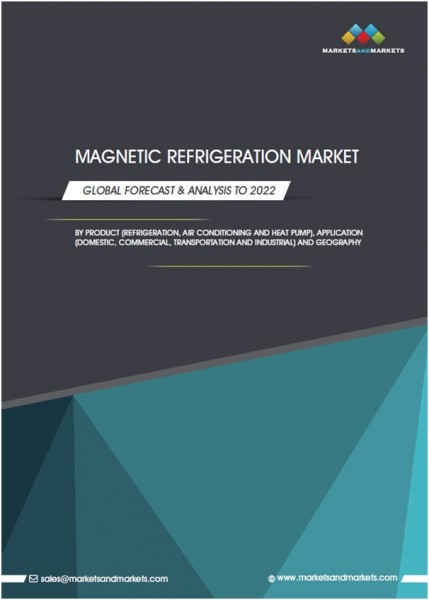 The first Magnetic Refrigeration Market report released